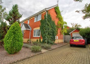 Thumbnail 4 bed detached house for sale in Ickworth Crescent, Rushmere St. Andrew, Ipswich