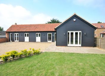 Thumbnail 3 bed barn conversion for sale in Chapel Road, Pott Row, King's Lynn