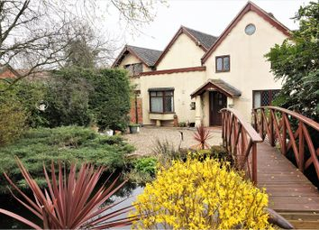 Thumbnail 6 bed detached house for sale in Church Lane, Corley Moor
