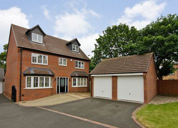 Thumbnail 5 bedroom detached house for sale in Limestone Close, Aldridge, Walsall