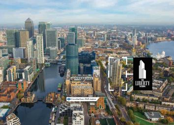 Thumbnail 1 bed flat for sale in A907, 110 East Ferry Road, Lime Harbour, London