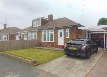 Thumbnail 2 bedroom semi-detached bungalow for sale in Roachburn Road, Westerhope, Newcastle Upon Tyne