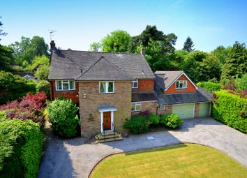 Thumbnail 4 bed detached house for sale in High Croft, Shamley Green, Guildford