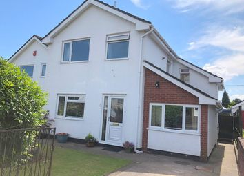 Thumbnail 3 bed detached house for sale in Langley Close, Magor, Caldicot