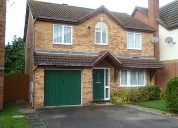 Thumbnail 4 bed detached house for sale in Neale Close, Wollaston, Northamptonshire