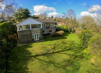 Thumbnail 4 bed detached house for sale in Park Wood Drive, Baldwins Gate, Newcastle