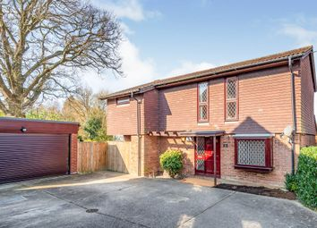 Thumbnail 4 bed detached house for sale in Kitsmead, Copthorne, Crawley