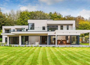 Thumbnail 5 bedroom detached house for sale in Mill Road, South Holmwood, Dorking, Surrey