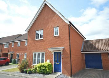 Thumbnail 3 bed detached house for sale in Windsor Park Gardens, Sprowston, Norwich