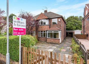 Thumbnail 3 bed semi-detached house for sale in Meadow Valley, Alwoodley, Leeds