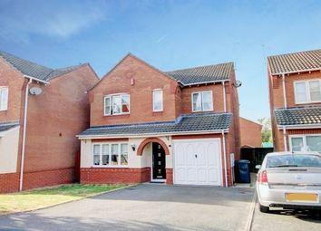 Thumbnail 4 bed detached house for sale in Mason Crescent, Swadlincote, Derbyshire