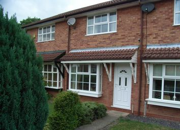 Thumbnail 2 bed terraced house to rent in Lordswood Close, Redditch