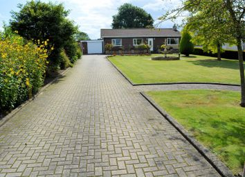 Thumbnail 3 bed detached bungalow for sale in Station Road, Hensall, Goole