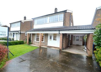 Thumbnail 4 bed detached house for sale in Abingdon Road, Bramhall, Stockport, Cheshire