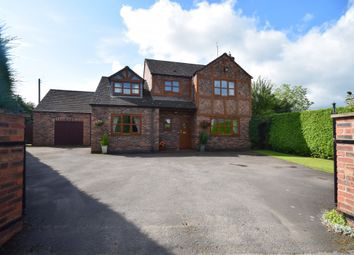 Thumbnail 4 bed detached house for sale in Mill Lane, Horsemans Green, Whitchurch