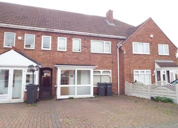 Thumbnail 3 bed terraced house for sale in Weybourne Road, Birmingham, West Midlands