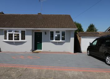 Thumbnail 3 bed bungalow for sale in Matlock Crescent, Luton