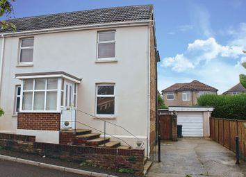Thumbnail 3 bedroom semi-detached house for sale in Creech Road, Parkstone, Poole