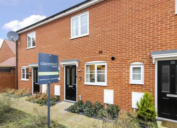 Thumbnail 2 bed terraced house for sale in Verbena Road, Cringleford, Norwich