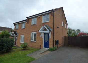 Thumbnail 3 bed property for sale in Bracken Road, Shirebrook, Mansfield