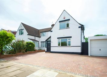 Thumbnail 3 bedroom semi-detached house for sale in Woodcock Dell Avenue, Kenton, Middlesex