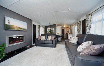 2 bed lodge for sale in Grange Court, Grange Road, Goodrington, Paignton, Devon TQ4