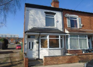 Thumbnail 2 bed terraced house to rent in Preston Road, Yardley, Birmingham