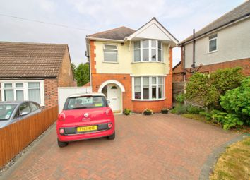 Thumbnail 4 bed detached house for sale in Tennis Court Drive, Leicester