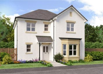 "Thumbnail 4 bed detached house for sale in ""Dunbar"" at Auchinleck Road, Robroyston, Glasgow"