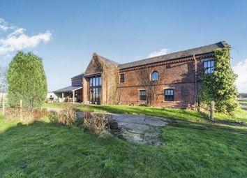 Thumbnail 4 bed barn conversion for sale in Hall Lane, Burtonwood, Warrington, Cheshire