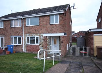 Thumbnail 3 bed semi-detached house to rent in Moy Avenue, Sinfin, Derby