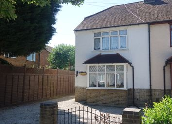 Thumbnail 3 bed semi-detached house to rent in Burgoyne Road, Sunbury On Thames