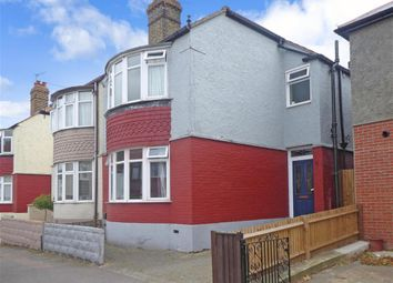 Thumbnail 3 bed semi-detached house for sale in Larkfield Avenue, Gillingham, Kent