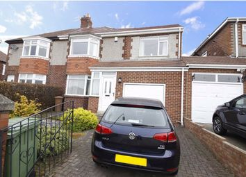 Thumbnail 3 bed semi-detached house for sale in St Chads Crescent, Middle Herrington, Sunderland