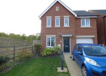 Thumbnail 4 bed detached house for sale in Mendip Way, Corby