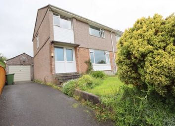 Thumbnail 3 bed semi-detached house for sale in Pinewood Close, Plymouth