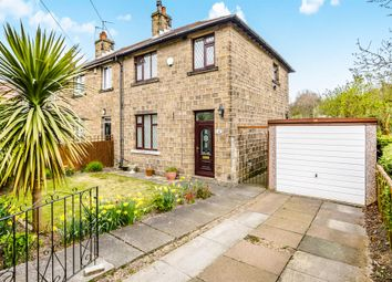Thumbnail 3 bed end terrace house for sale in Hall Cross Road, Lowerhouses, Huddersfield
