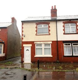 Thumbnail 2 bed end terrace house to rent in Crossland Road, Blackpool