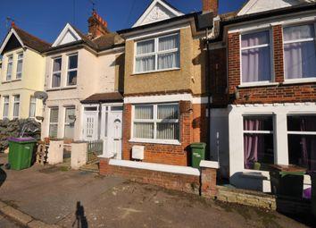 Thumbnail 4 bedroom terraced house to rent in Morrison Road, Folkestone