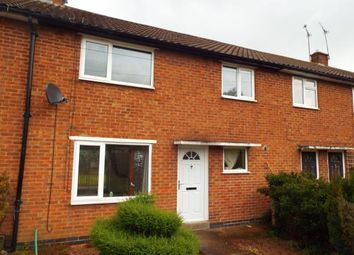 Thumbnail 3 bed terraced house for sale in Owston Drive, Wigston, Leicestershire