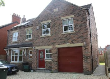 Thumbnail 5 bedroom detached house to rent in Field Road, Thorne, Doncaster