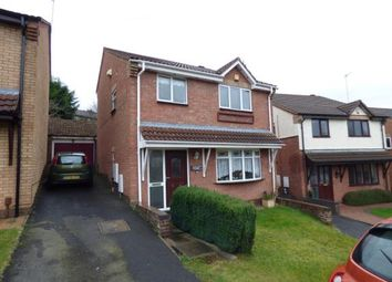 Thumbnail 3 bed link-detached house for sale in Balmoral Close, Halesowen, West Midlands