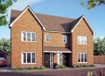 "Thumbnail 3 bed detached house for sale in ""The Cypress"" at Curbridge, Botley, Southampton"