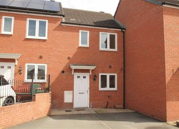 Thumbnail 2 bed terraced house for sale in Cae Melin Avenue, Oswestry