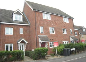 Thumbnail 3 bed town house to rent in Percival Close, Lee-On-The-Solent