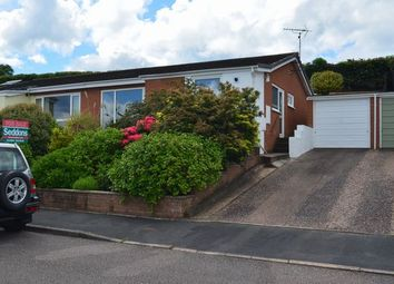 Thumbnail 3 bed semi-detached bungalow for sale in Peard Road, Tiverton