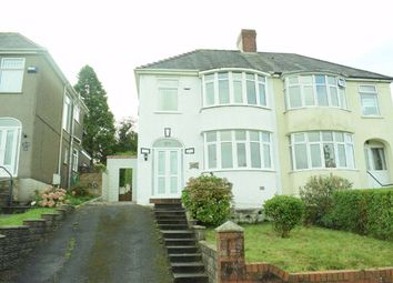 Thumbnail 3 bed semi-detached house for sale in Gwynedd Avenue, Cockett, Swansea