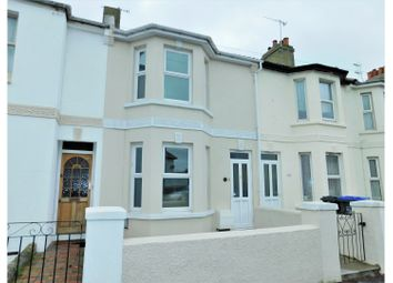 Thumbnail 3 bed terraced house for sale in Lyndhurst Road, Worthing