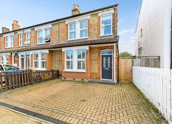 Thumbnail 4 bed end terrace house for sale in Worthington Road, Surbiton
