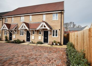 Thumbnail 2 bed semi-detached house for sale in Larnach Drive, Kentford, Newmarket